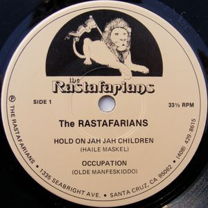 The Rastafarians + interview Midnight Dread #54 Part 2 Jan. 19th 1981 KTIM San Rafael, CA