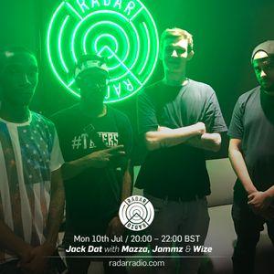 Jack Dat w/ Mazza, Jammz & Wize - 10th July 2017
