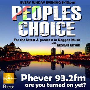 Peoples Choice On Phever 93.2 FM Dublin 1/3/15