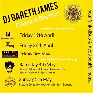 Spring Equinox Sessions - Gareth James In the Mix April 2019