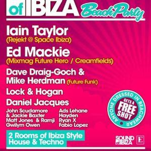 Gwilym Owen - Jackin Warm Up @Embassy Sound of Ibiza June 29th 2012