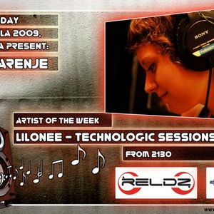 Technologic Mix Sessions on DI.fm - Lilonee (23-03-2009)
