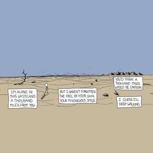 Never Alone in the Empty Desert
