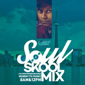 The Soul Skool Mix - Wednesday August 12 2015 [Midday Mix]