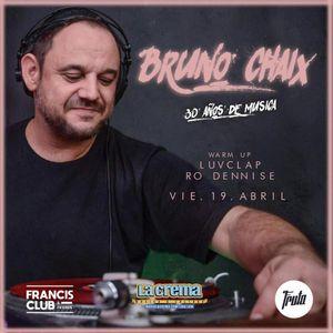 Bruno Chaix - 30 años de Musica (Dj set Live en Fruta 19.04.2019 Cordoba Argentina)