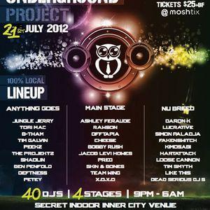 daron k - LIVE @ the underground project 2012