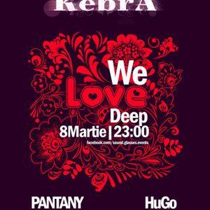 HuGo - Live @ We Love Deep (Kebra Brasov 08-03-2012)