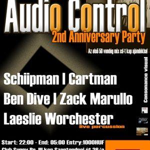 Cartman - Warm up to Audio Control  2 nd Anniversary Club Night