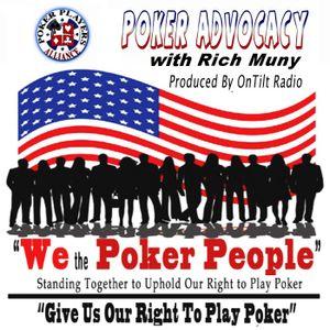 Poker Advocacy - Jan 17, 2017 - Guest: John Pappas