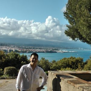 on the french riviera with DJ Fred
