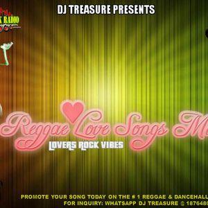 REGGAE LOVE SONGS MIX║DJ TREASURE LOVERS ROCK VIBES║18764807131 by