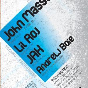 John Massey @ Static/Portland-01-06-12