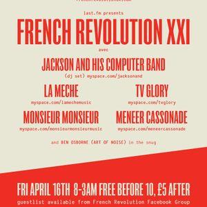 Monsieur Monsieur Mix for French Revolution XXI