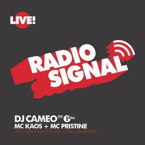 DJ Cameo Live @ Signal, Xmas 2010