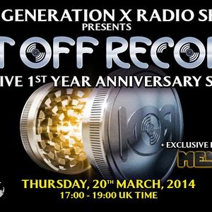 "GenerationX pres. ""KUT OFF RECORDS 1 YEAR SHOWCASE"" + Interview wt. MENACE @ NuRave Radio-20MAR2014"