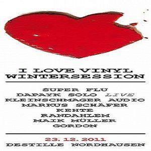 Dapayk Solo @ I LOVE VINYL Wintersession - Destille Nordhausen - 23.12.2011