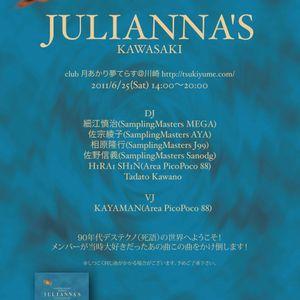 [JULIANNA'S KAWASAKI] Shin Hirai - Modean & 90's Rave DJ Mix [20110625]
