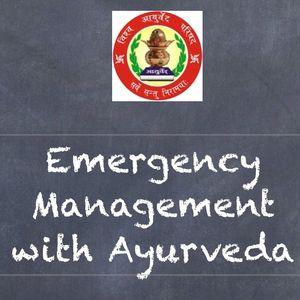 Vishwa Ayurveda Parishad Uttar Pradesh-Kaushalam- emergency in Ayurveda