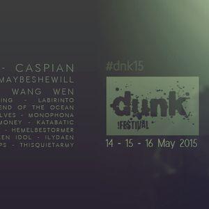 De Geluidsarchitect 2015-14 (7 april 2015) DUNK!festival 2015