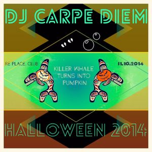Dj Carpe Diem - Killer whale turns into Pumpkin (Halloween party 2014)