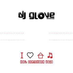 DJ Glove - I love House Music vol. September 2011