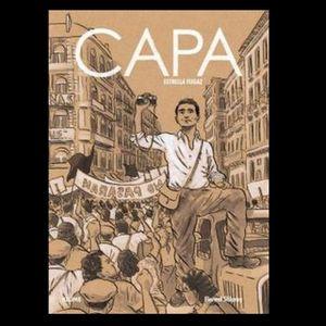"""Còmics a Lletres Mil- """"CAPA. Estrella fugaz""""."""