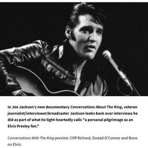 Conversations About the King. A documentary about Elvis Presley, featuring Bono, Sam Phillips