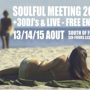 Mark Gorbulew@Soulful Meeting 2012, PT.2, Aug. 14, on the beach, south of France.
