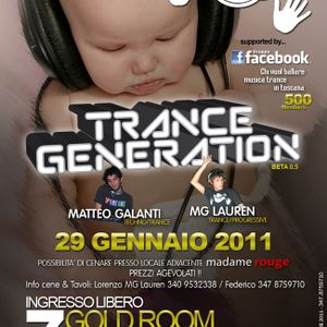 Trance Generation 29-1-2011 @ Seven Eleven - by MG Lauren