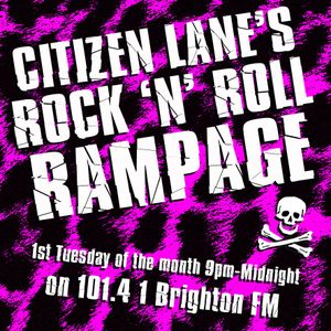 Citizen Lane's Rock n Roll Rampage! October 2017