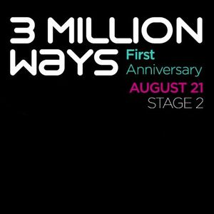 XX - Musabesni - 3 Million Ways 1st Anniversary @ TM Radio [ 21-aug-2011 ]