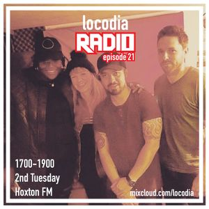 Locodia Radio #021 - The Left Rib, Nikki Cislyn, KAS-tro