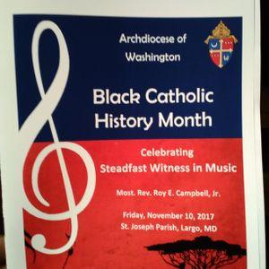 Archdiocese of Washington Black Catholic History Month Mass - November 10, 2017