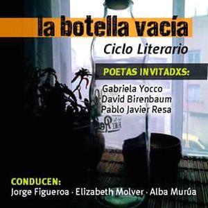 """Alba Murua, poeta y organizadora del ciclo """"La botella vacía"""" - La Patria de las Moscas - 5/9/17"""