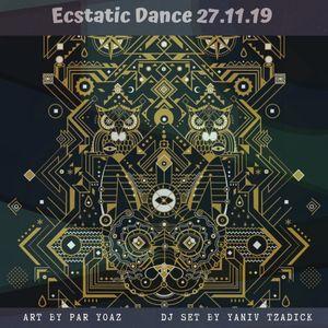 Ecstatic Dance By Yaniv Tzadick - 27.11.19