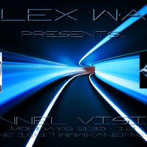 Alex Wax Tunnel Vision monday 29th oct