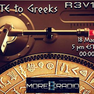 Underground Accounts pays Tribute to Greeks Deep House Session #01 @MoreBass Radio