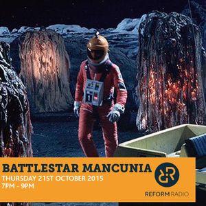 Battlestar Mancunia 21st October 2015 with G kut & Peter Parker