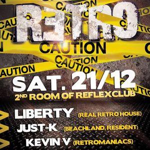 Just-K & Kevin V @ retro reflex 21.12.2013 (part 1)