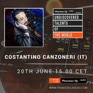 Costantino Canzoneri - Pioneer Dj Radio (Live 20/06/17)