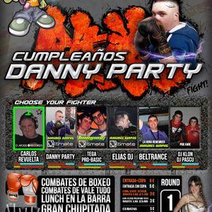 Elias Dj @ Invasores Bumping - Cumpleaños Danny Party (9.6.12)