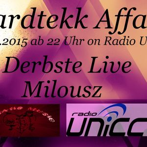 Derbste Live @ TML Live Hardtekk Affair on Radio UNiCC 03.01.15