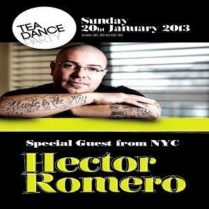 Hector Romero @ Tea Dance Party, Vicenza ITA - 20.01.2013