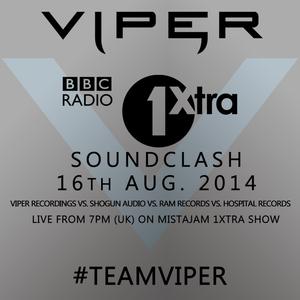 BBC 1Xtra D&B Soundclash (Viper vs Hospital vs Shogun vs Ram)