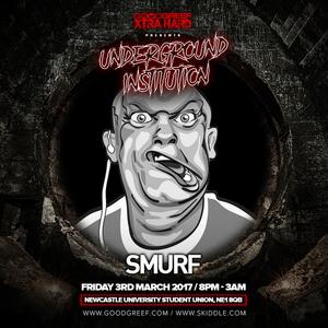 DJ Smurf @ Goodgreef Xtra Hard. Newcastle, England - 03/03/2017
