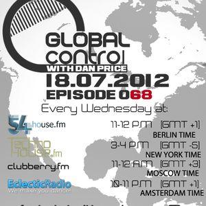 Dan Price - Global Control Episode 068 (25.07.12)