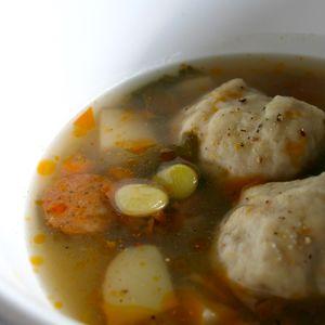 Lima Bean Dumplings