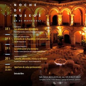 Noche de museos en el Museo Regional de Querétaro
