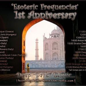 CJ Art - Esoteric Frequencies 1st Anniversary on TM Radio [05 August 2012]