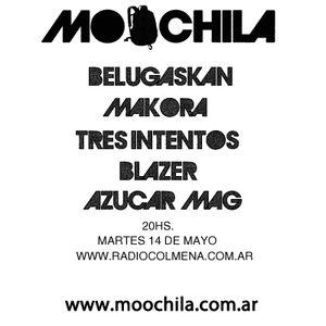 MOOCHILA con MAKORA, BLAZER, BELUGASKAN, TRES INTENTOS & AZUCAR MAG
